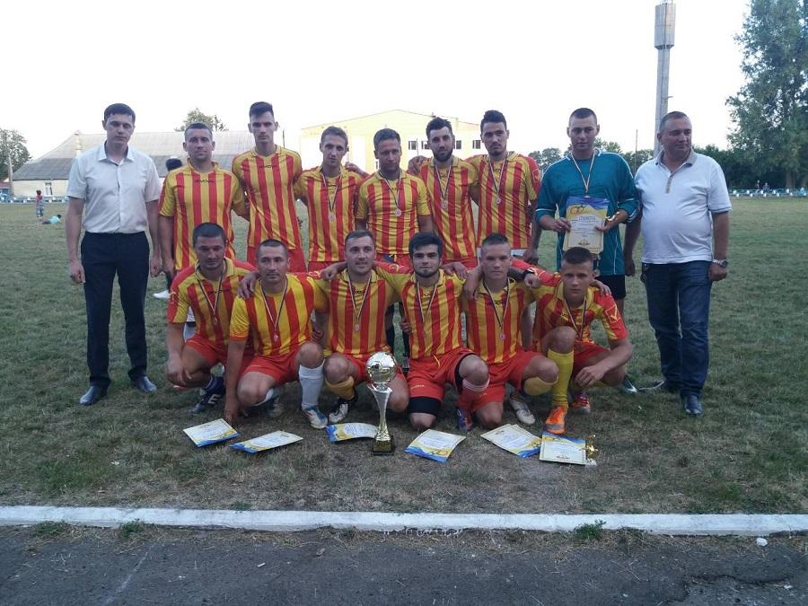 Кубок Сокирянщини з футболу 2018 року поїхав у Вітрянку